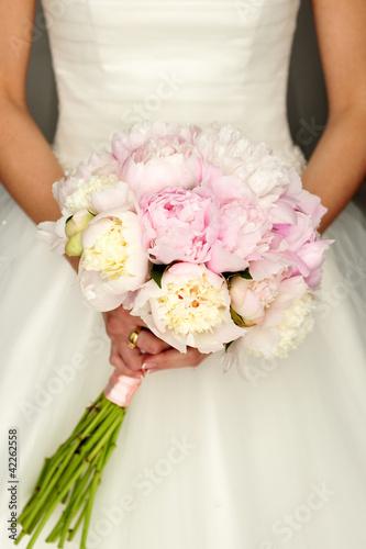blooming, bridal, detail, flowers, fresh, paeonia, wedding