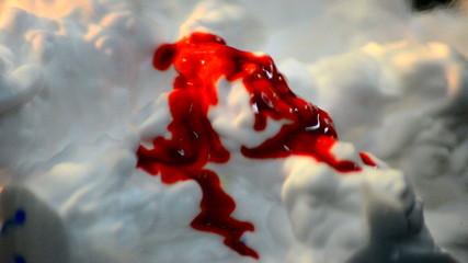nieve sangre