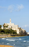 St. Peter's Church old city Jaffa Tel Aviv Israel on Mediterrane