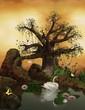 Enchanted nature series - romantic lake
