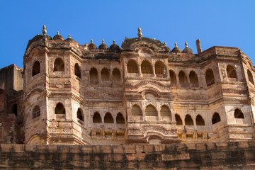 Fort Mehrangarh in Jodhpur India
