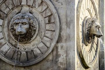 Terazije fountain in Belgrade Serbia