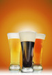 Alcohol Beer Glasses with Foam