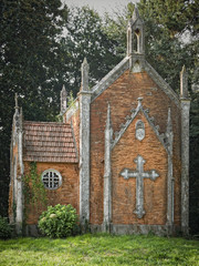 Gothic style chapel