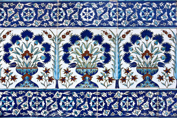 Tiles in Topkapi Palace