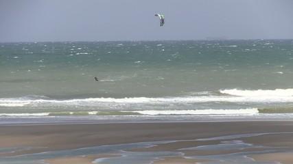 cout de vent sur la plage