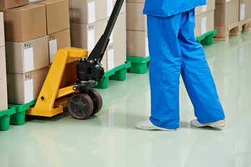 medical warehouse works