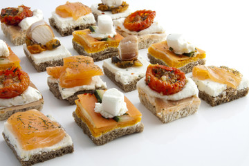 Assortiment de Toasts
