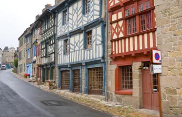 street in Breton town