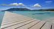 plage et ponton
