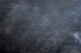 Blank smudged blackboard poster