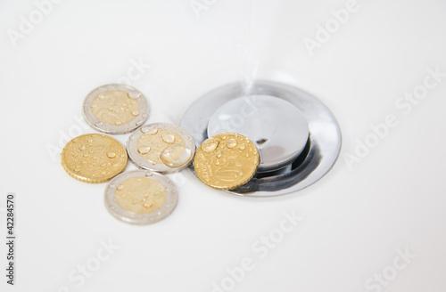 Wasser und Geld