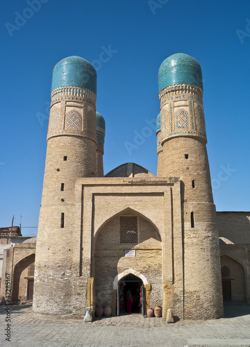 Chor-Minor Madrassah in Bukhara
