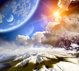 Fototapety Fantasy landscape