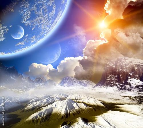 Fantasy landscape - 42287737