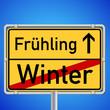 Schil - Jahreszeitenwechsel Winter / Frühling