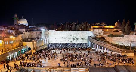 Western Wall  on the Temple Mount ,Jerusalem, Israel