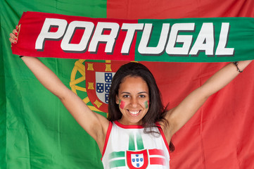 Portual soccer fan