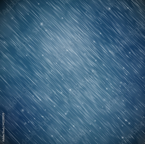 Background with rain - 42289139