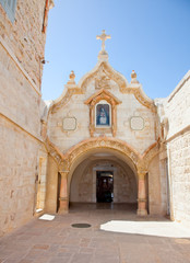 Milk Grotto church in Bethlehem, Palestine