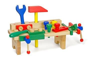 Holzspielzeug - Werkbank