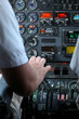 Schubhebel Flugzeug