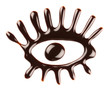 Chocolate eye