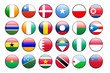 national flag vector icons 2