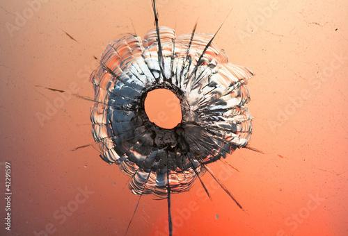 bullet hole - 42291597