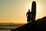 Long boarder watching the waves - Fine Art prints