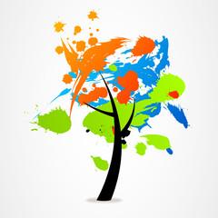 business logo tree