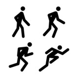 Running Pictograms