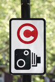Congestion charge signpost poster