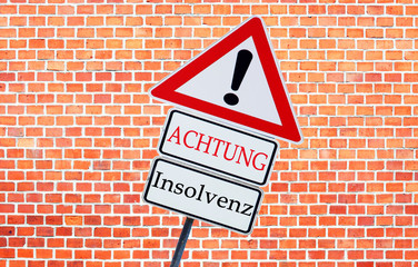 Achtung Insolvenz