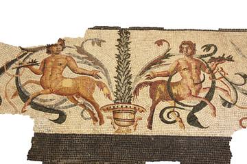 mosaïque aux centaures
