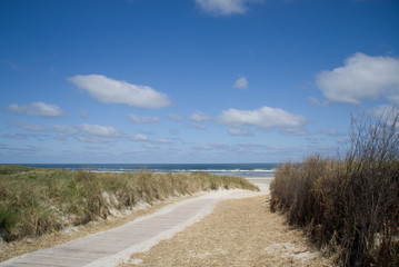 North Sea Beach on Juist