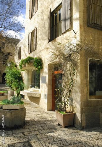 Jerusalem: modern house