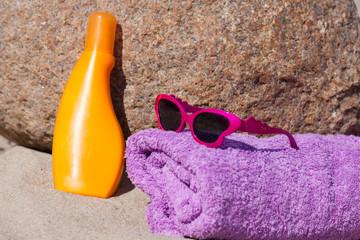 Sonnenbaden am Strand