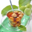 Green walnut jam