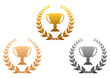 Golden, silver and bronze awards