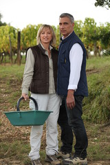Couple on farm
