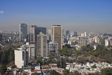 polanco skyline, mexico df