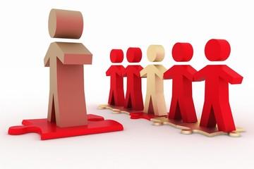 Conceptual leadership concept
