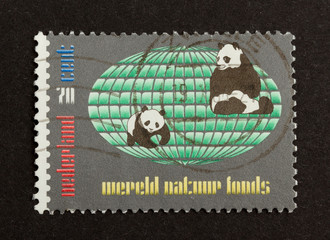 HOLLAND - CIRCA 1990: Stamp printed in the Netherlands