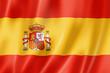 Leinwandbild Motiv Spanish flag