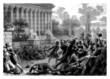 Riot - Emeute - Aufruhr - 19th century