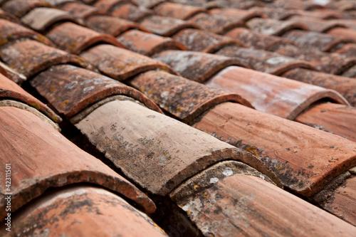 Typisch provenzalische Dachziegel