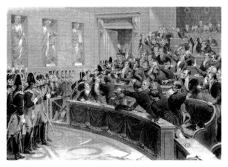 Conflict in a Politic Assembly - begining 19th century