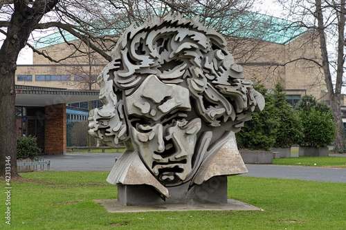 Beethon - a bust of Ludwig van Beethoven in Bonn, Germany