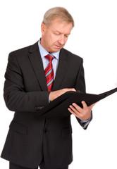 Mann mit Aktenmappe